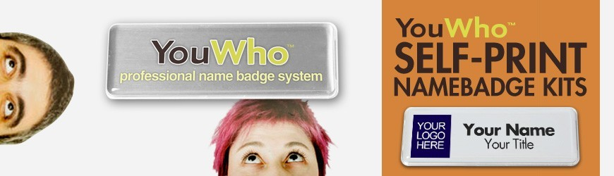 ID name badge kit by YouWho