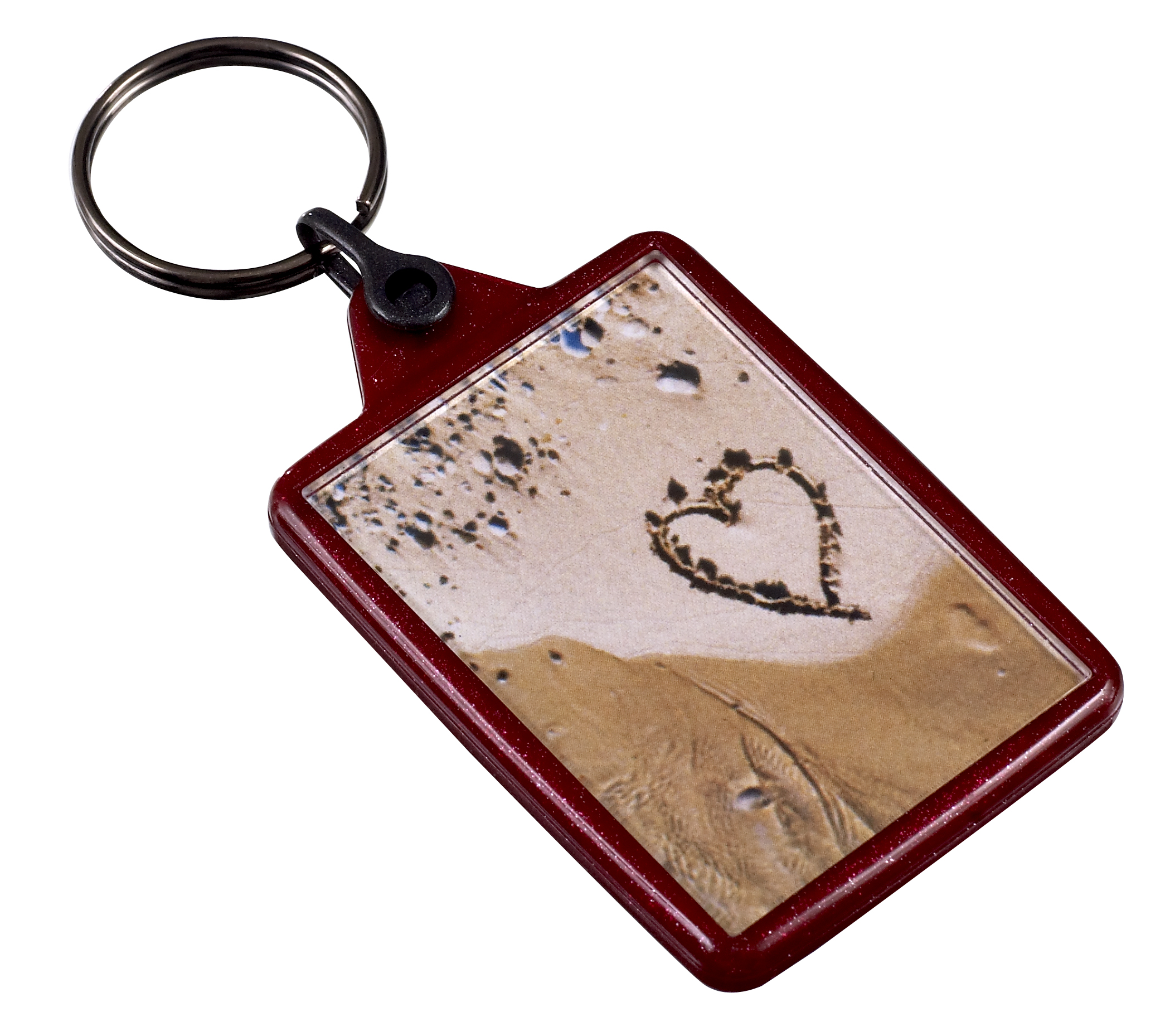 IL05 rececyled key ring in red