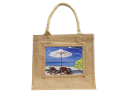 Medium Jute Bag printed