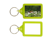 IPS02 Soft Touch Keyring 35x45mm Blank