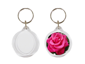 I1 33mm Round Keyrings Blank