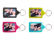 IPS02 Soft Touch Keyring 35x45mm Colours
