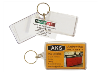 Blank Keyrings & Key Fobs