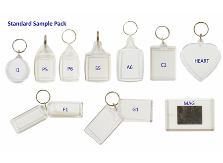 Sample Pack of 10 Assorted Insert Promotional Gifts
