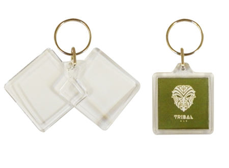 U1 Square Keyrings 32 x 32mm