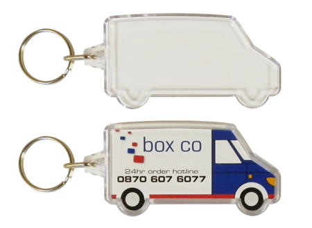 Combo Van Shaped Keyrings