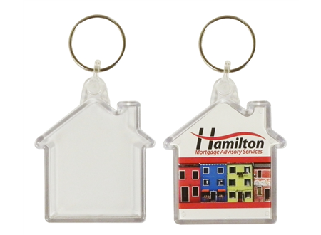 Medium House Keyring 48x50mm max