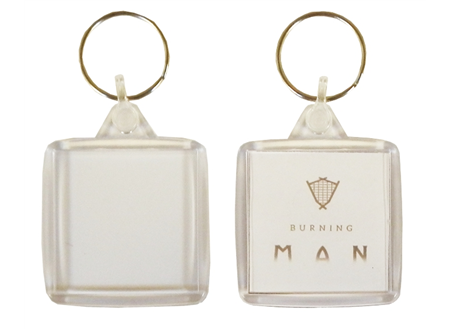 IS02 Square Keyring 38x38mm