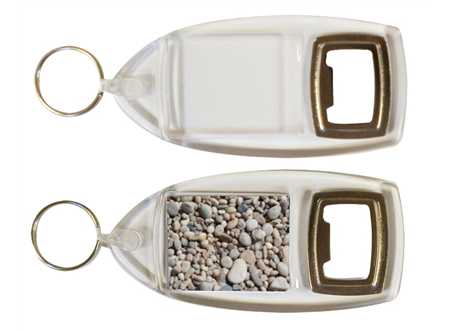 R1 Bottle Opener Keyrings 40x32mm