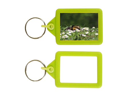 IPS02 Soft Touch Keyring 35x45mm