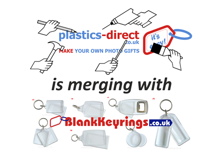 Plastics-Direct.co.uk has now merged with BlankKeyrings.co.uk