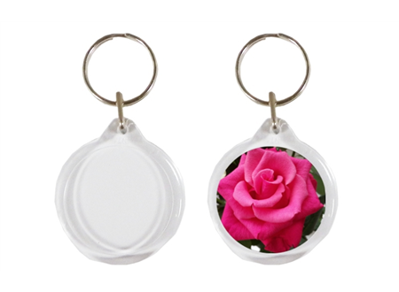 I1 Orb Round Keyrings 33mm