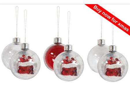 Special Offer - Pack of 6 Baubles