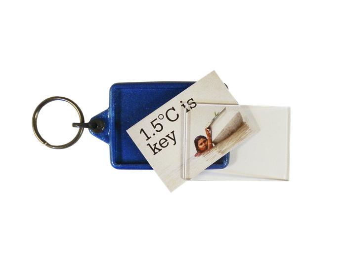 IL05 Recycled Keyring 35x50mm Unassembled