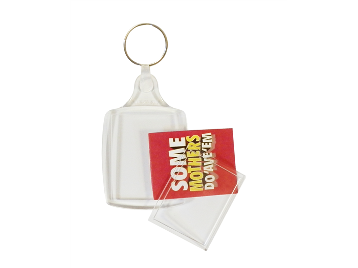 A6 Passport Keyring 35x45mm Unassembled