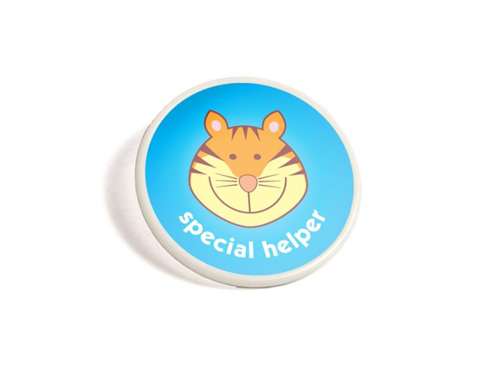 Button Badge round printed