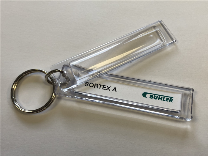 Number Plate Blank Keyrings are a great value way to promote your brand.