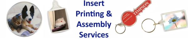 Insert Printing and Assembly Services